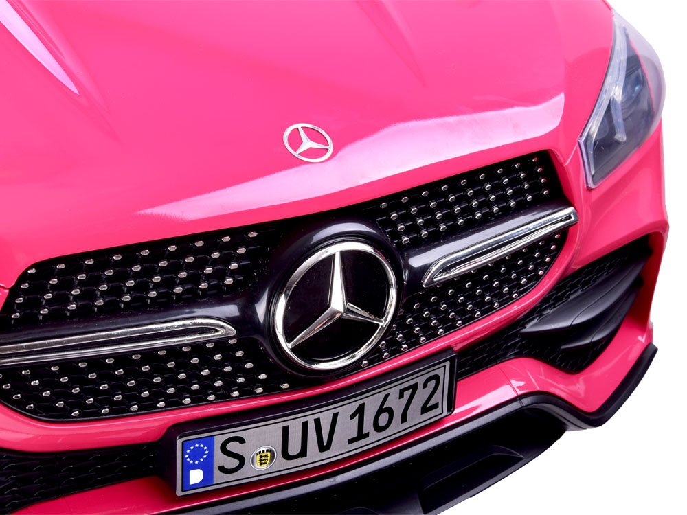 Masinuta electrica cu roti din cauciuc Mercedes GLE 450 AMG Pink - 4