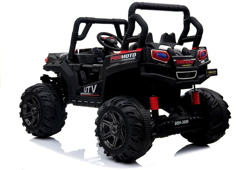 Masinuta electrica cu roti din cauciuc 12V Nichiduta UTV Pro Blue - 7
