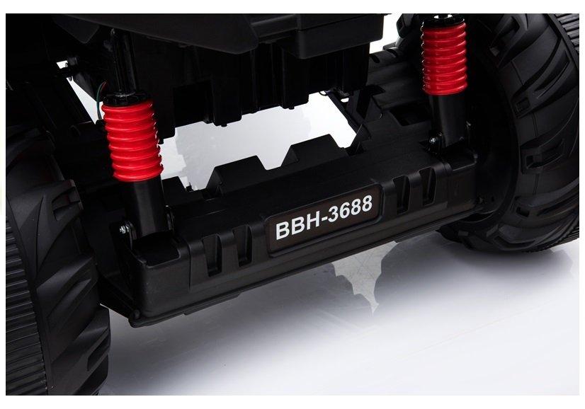 Masinuta electrica cu roti din cauciuc 12V Nichiduta UTV Pro Blue - 8