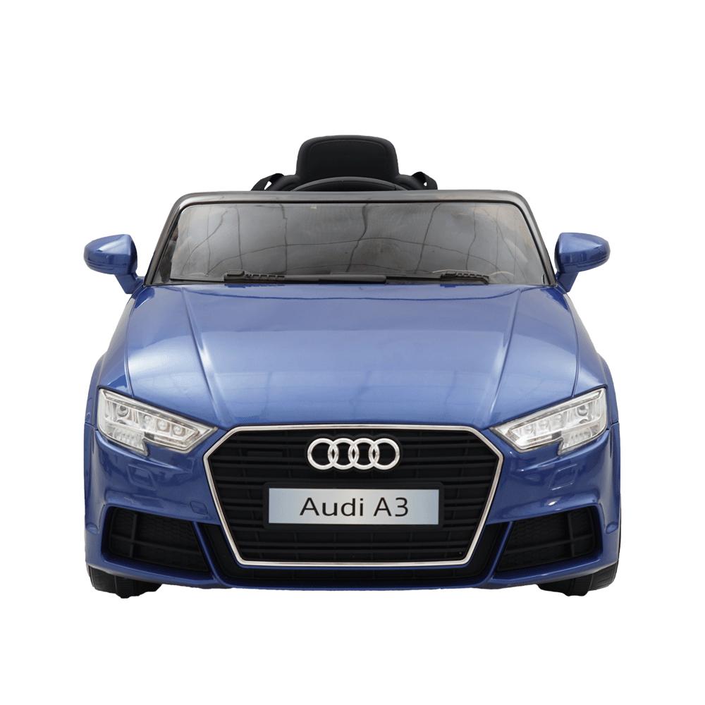 Masinuta electrica roti EVA 12V Audi A3 albastru - 3