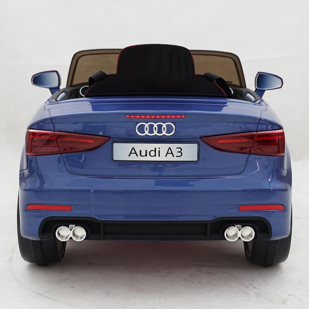 Masinuta electrica roti EVA 12V Audi A3 albastru - 1