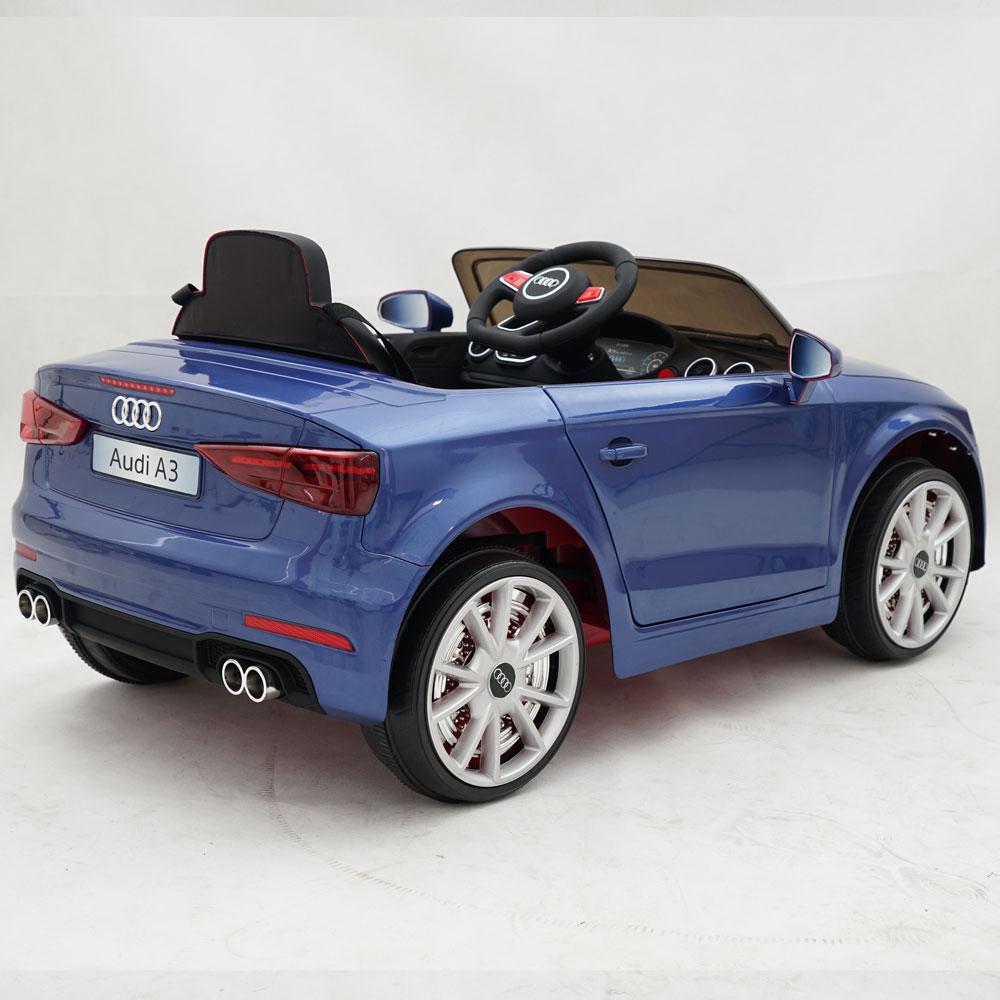 Masinuta electrica roti EVA 12V Audi A3 albastru - 2