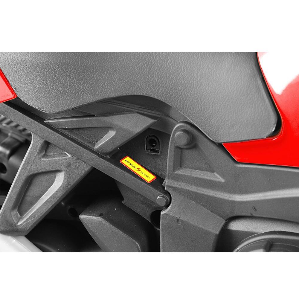 Motocicleta electrica Nichiduta Sport 6V cu roti ajutatoare Red