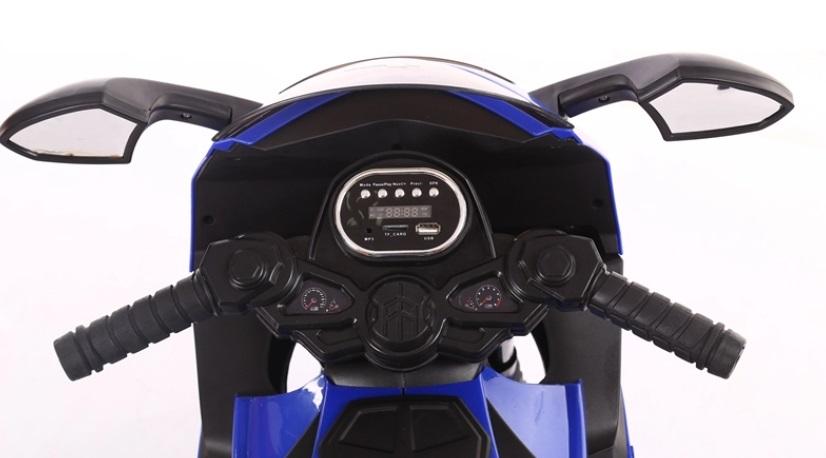 Motocicleta electrica 6V Nichiduta K1200 Red - 3