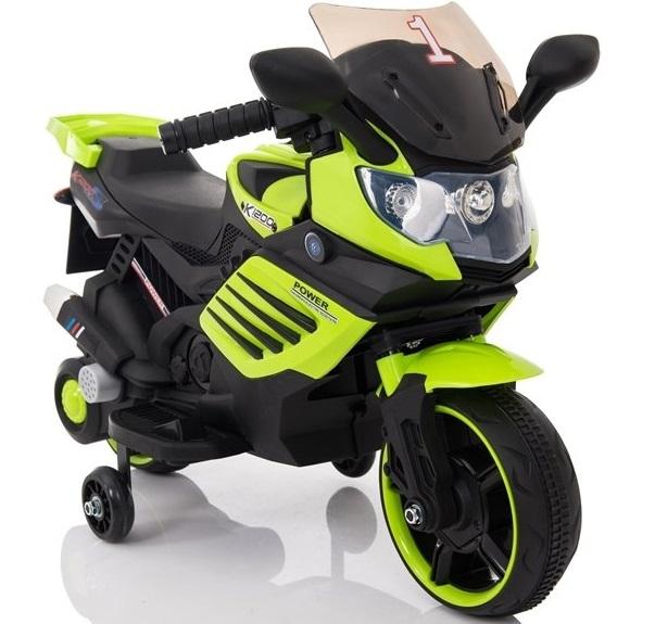 Motocicleta electrica Nichiduta Power 6V Green - 1