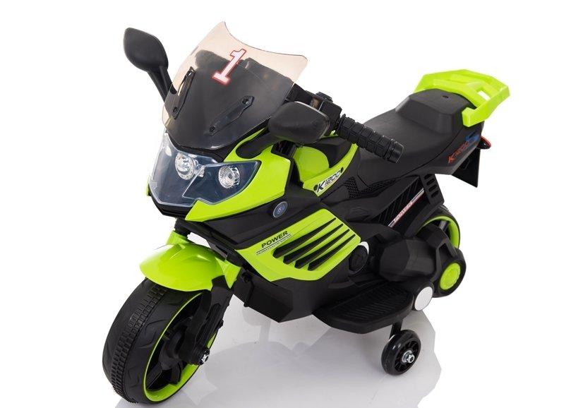 Motocicleta electrica Nichiduta Power 6V Green - 2