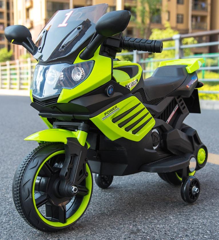 Motocicleta electrica Nichiduta Power 6V Green - 3