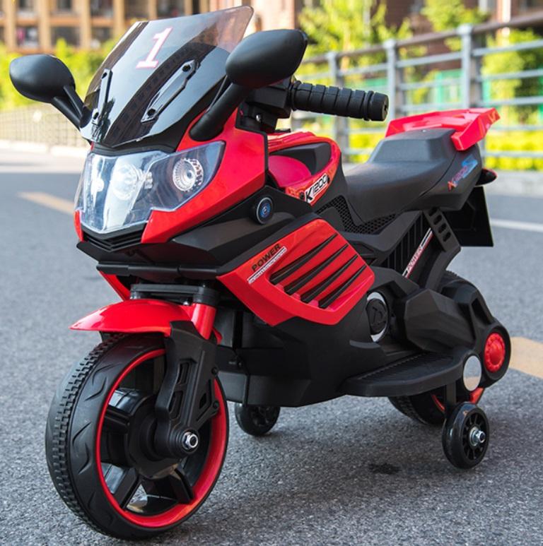 Motocicleta electrica Nichiduta Power 6V Red - 2