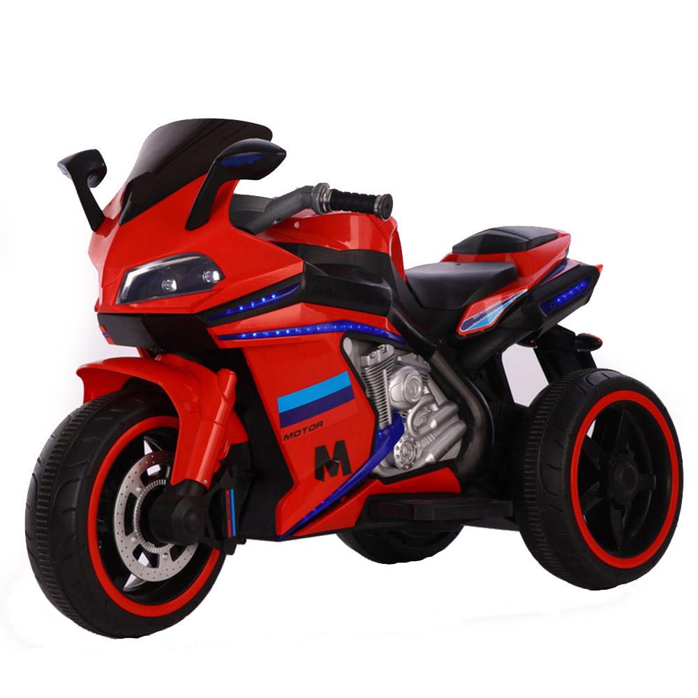 Motocicleta electrica cu lumini LED Legend Red