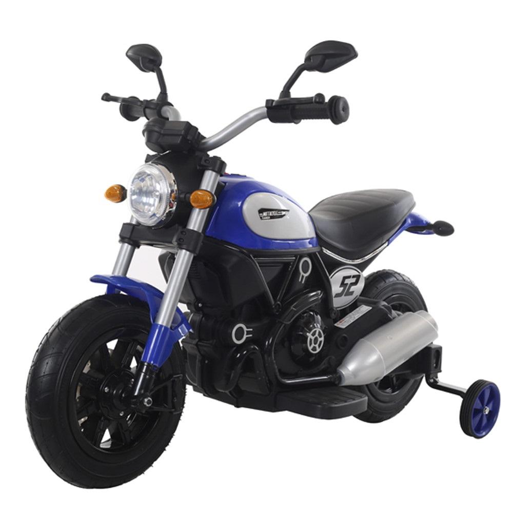 Motocicleta electrica cu roti gonflabile Nichiduta Rider Blue - 2