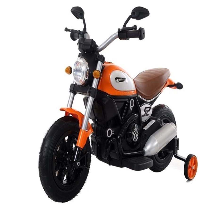 Motocicleta electrica cu roti gonflabile Nichiduta Rider Yellow - 8