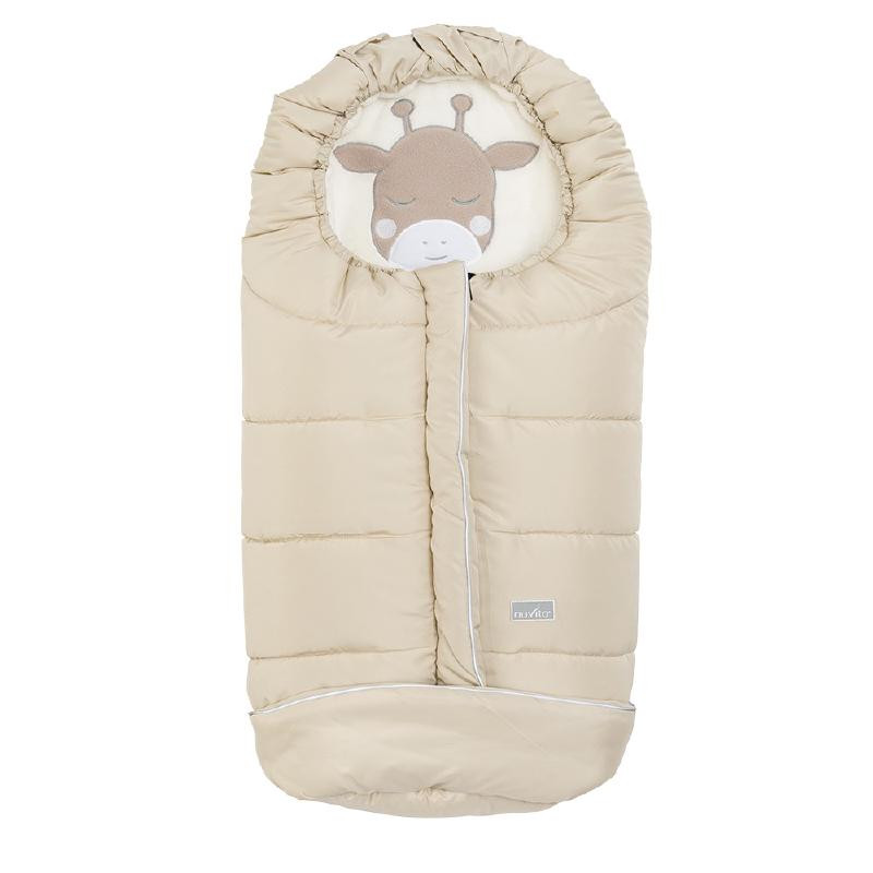 Sac de iarna 100 cm Giraffe Warm Sand Beige 9605 Nuvita Junior Cuccioli