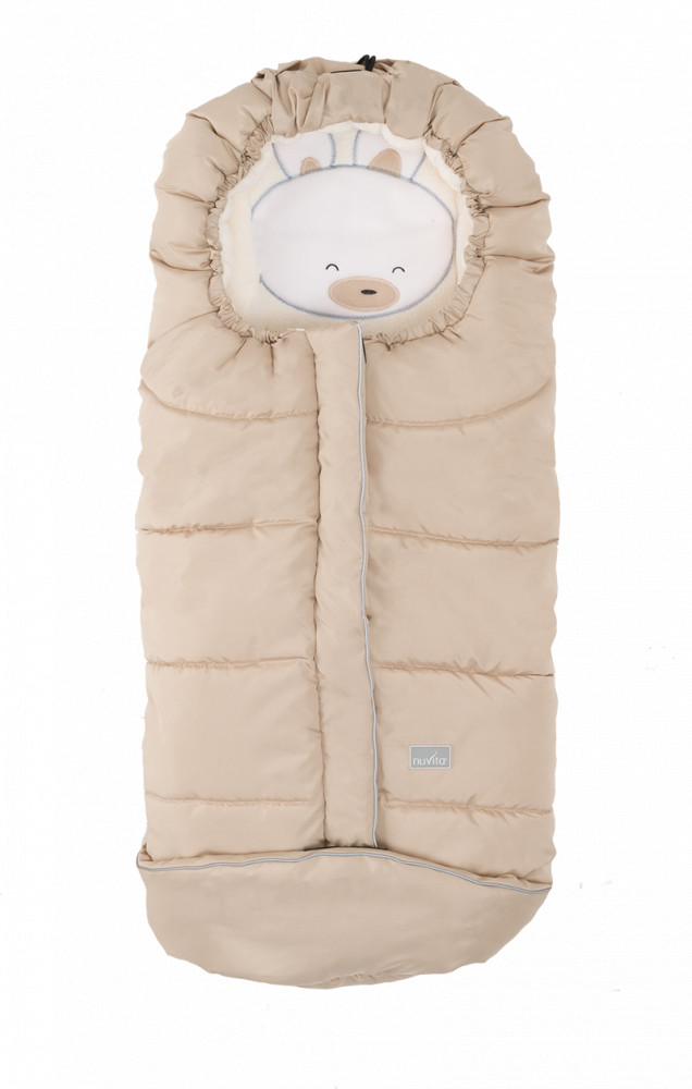 Sac de iarna 100 cm Rabbit Beige Beige 9605 Nuvita Junior Cuccioli