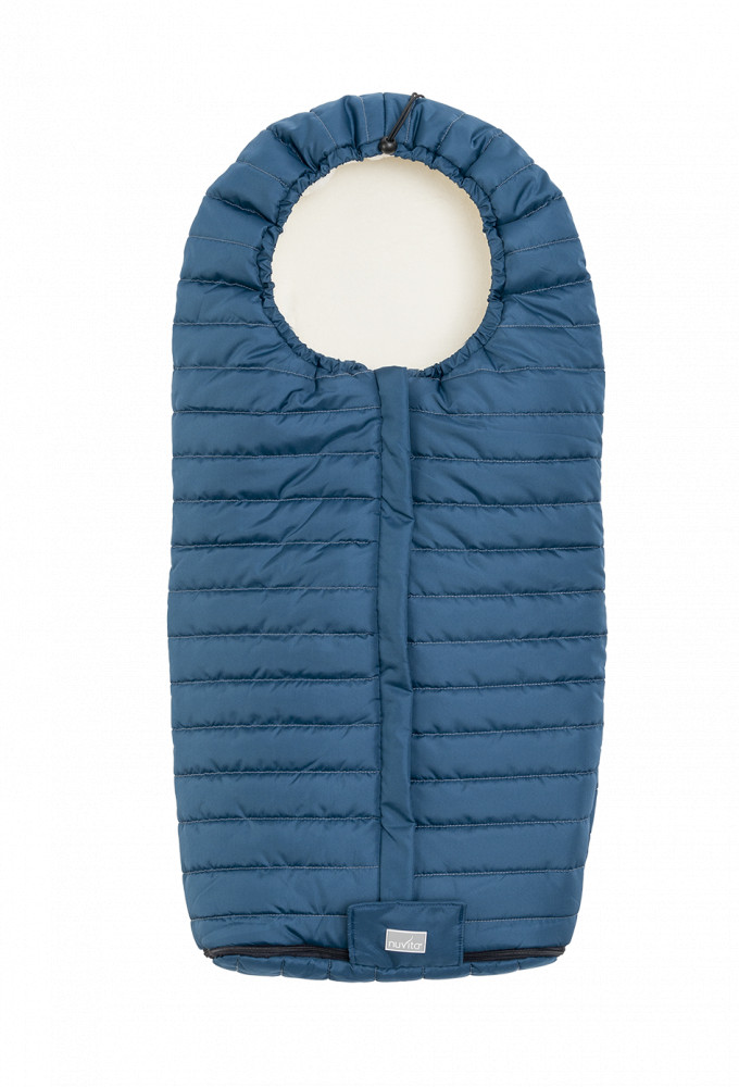 NUVITA Sac de iarna 100cm Harbor blue  Beige 9658 Nuvita Junior Slender