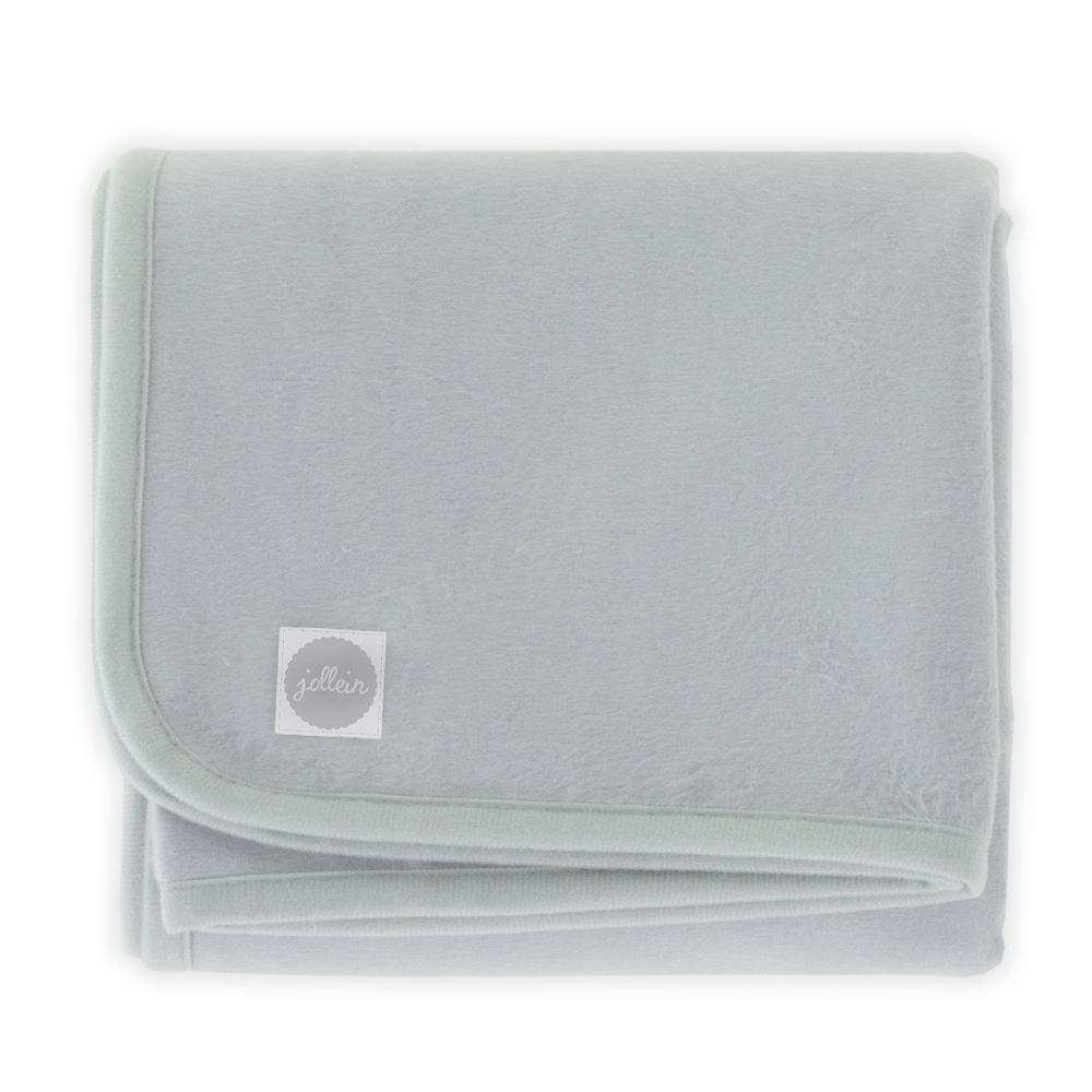 Paturica bebe 100x150 cm Jollein soft-grey