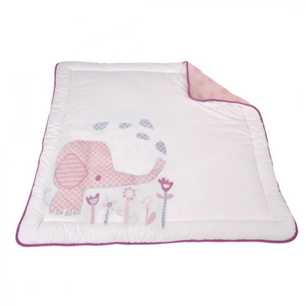 Salteluta pentru joaca Elefantastic roz BabyDan