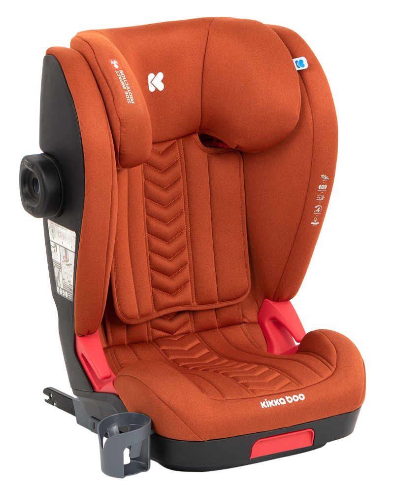 KikkaBoo Scaun auto cu isofix 2-3 (15-36 kg) Tilt Orange 2020