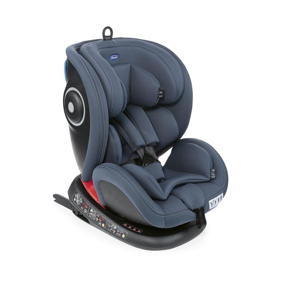 CHICCO Scaun auto isofix rotativ Chicco Seat4Fix IndiaInk 0+123 0-36 kg