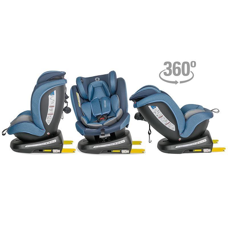 Scaun auto rotativ 0-36 kg Coccolle Mydo Pure blue