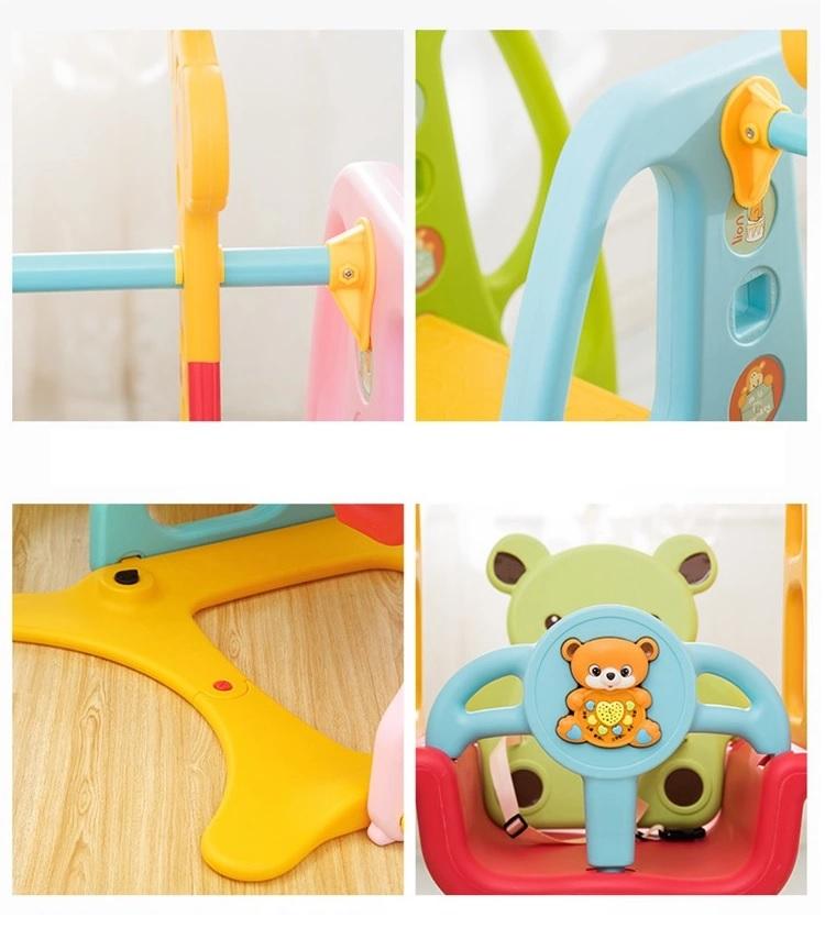 Spatiu de joaca Nichiduta Bear Colorful 3 in 1