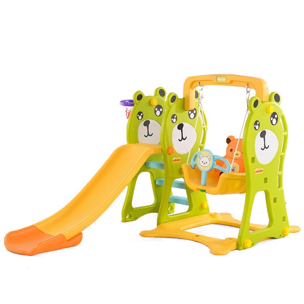 Spatiu de joaca 3 in 1 Nichiduta Bear Green