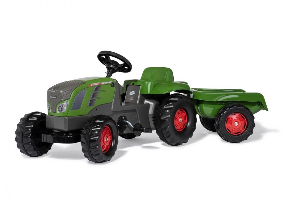 Tractor cu pedale Rolly Kid Fendt 516 Vario cu remorca