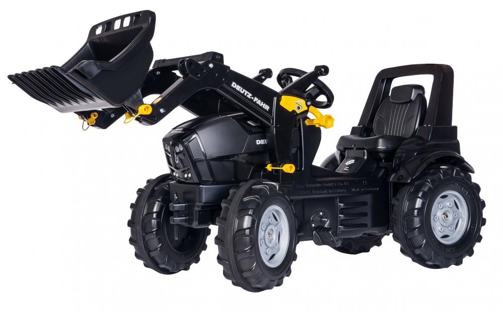 Tractor cu pedale si cupa RollyToys Deutz-Fahr
