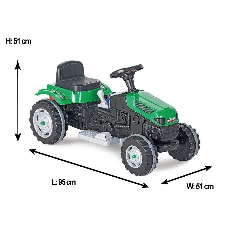 Tractor electric Pilsan Active 6V verde - 2