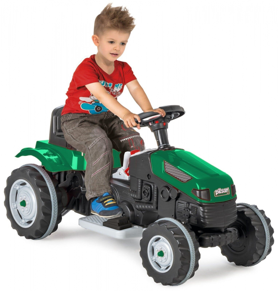Tractor electric Pilsan Active 6V verde - 4