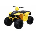 ATV electric Nichiduta Extreme Quad cu roti din cauciuc Yellow