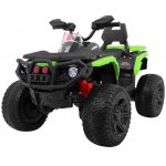 Atv electric cu roti din cauciuc 12V Nichiduta Hunter Pro Green