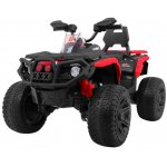 Atv electric cu roti din cauciuc 12V Nichiduta Hunter Pro Red
