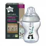 Biberon Tommee Tippee Closer to Nature 260 ml PP Ursuleti Panda 0 luni +