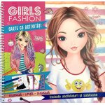 Carte cu activitati Girls Fashion