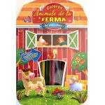 Carte de colorat Animale de la ferma