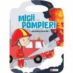 Carte de colorat Micii pompieri Editura Kreativ EK8565