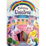 Carte de colorat Unicorni