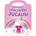 Carte de colorat Unicornii jucausi Editura Kreativ EK8572