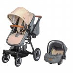 Carucior transformabil 3 in 1 Coccolle Ambra Safari Beige 2021
