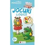 Joc educativ Luk Jocuri Logice exercitii distractive Editura Kreativ EK6145