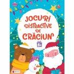 Jocuri distractive de Craciun 6 ani Editura Kreativ EK8671