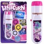 Lanterna proiector cu 3 diapozitive Unicorni Bambinice BN020