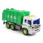 Masinuta pentru reciclare cu frictiune lumini si sunete scara 1 la 16