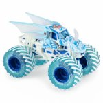 Masinuta metalica Monster Jam Fire Ice and Ice Backugan Dragonoid