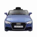 Masinuta electrica roti EVA 12V Audi A3 albastru