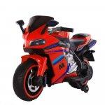 Motocicleta electrica cu lumini LED Sport Red