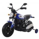 Motocicleta electrica cu roti gonflabile Nichiduta Rider Blue
