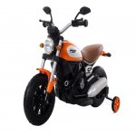 Motocicleta electrica cu roti gonflabile Nichiduta Rider Yellow