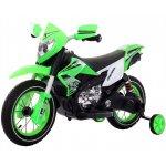 Motocicleta electrica cu roti gonflabile Nichiduta Super Moto Green