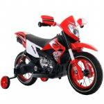 Motocicleta electrica cu roti gonflabile Nichiduta Super Moto Red